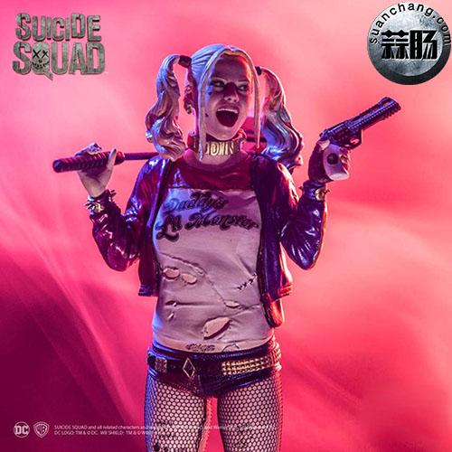 Iron Studios  推出 DC Comics  电影自杀突击队   1/10 比例小丑女 模玩 第1张