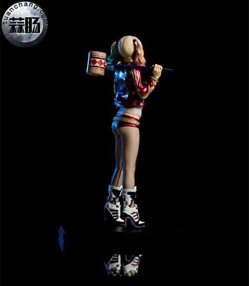 Iron Studios  推出 DC Comics  电影自杀突击队   1/10 比例小丑女 模玩 第4张