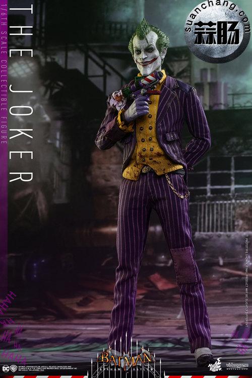 霸占游戏系列?小丑再度来袭——Hottoys新品《蝙蝠侠:阿甘疯人院》-小丑JOKER官图发布 动态 第1张