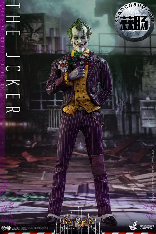 霸占游戏系列?小丑再度来袭——Hottoys新品《蝙蝠侠:阿甘疯人院》-小丑JOKER官图发布 动态 第2张