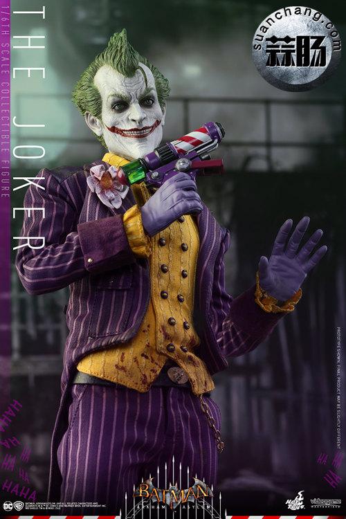 霸占游戏系列?小丑再度来袭——Hottoys新品《蝙蝠侠:阿甘疯人院》-小丑JOKER官图发布 动态 第4张