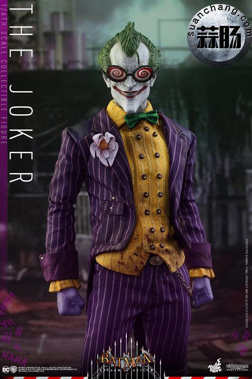 霸占游戏系列?小丑再度来袭——Hottoys新品《蝙蝠侠:阿甘疯人院》-小丑JOKER官图发布 动态 第3张