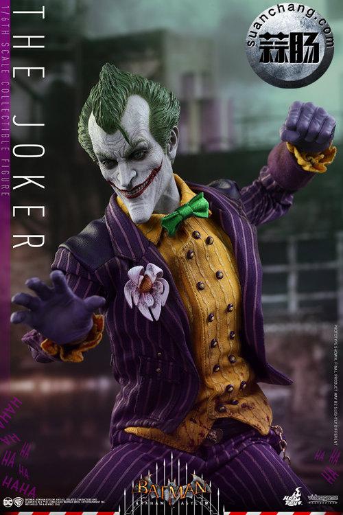 霸占游戏系列?小丑再度来袭——Hottoys新品《蝙蝠侠:阿甘疯人院》-小丑JOKER官图发布 动态 第6张