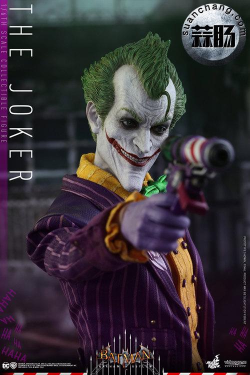霸占游戏系列?小丑再度来袭——Hottoys新品《蝙蝠侠:阿甘疯人院》-小丑JOKER官图发布 动态 第8张