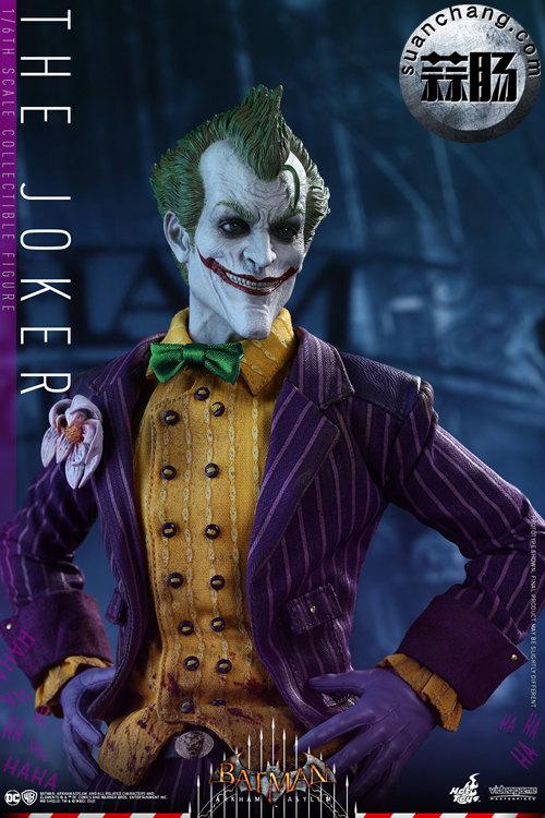 霸占游戏系列?小丑再度来袭——Hottoys新品《蝙蝠侠:阿甘疯人院》-小丑JOKER官图发布 动态 第7张