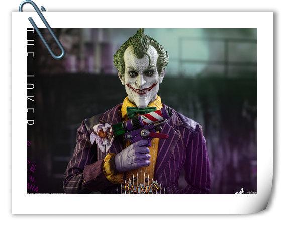 霸占游戏系列?小丑再度来袭——Hottoys新品《蝙蝠侠:阿甘疯人院》-小丑JOKER官图发布