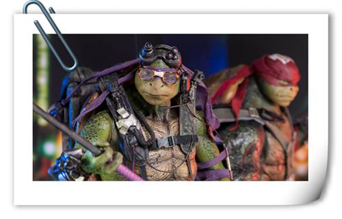 再度归来!ThreeZero 新品:《忍者神龟2》- 多纳泰罗& 拉斐尔