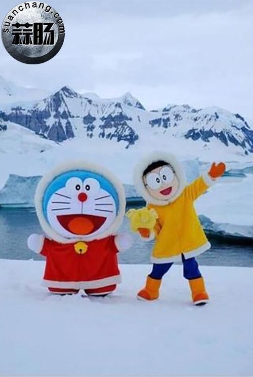 《哆啦A梦》南极一游,为新剧场版造势 冒险 大雄 哆啦A梦 动漫  第1张