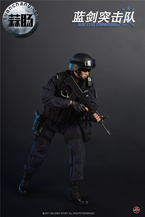 SoldierStory新品:1/6 北京蓝剑突击队 - Blue Steel Commandos SWAT 模玩 第2张