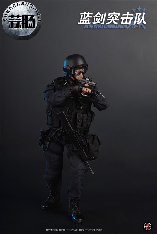 SoldierStory新品:1/6 北京蓝剑突击队 - Blue Steel Commandos SWAT 模玩 第8张