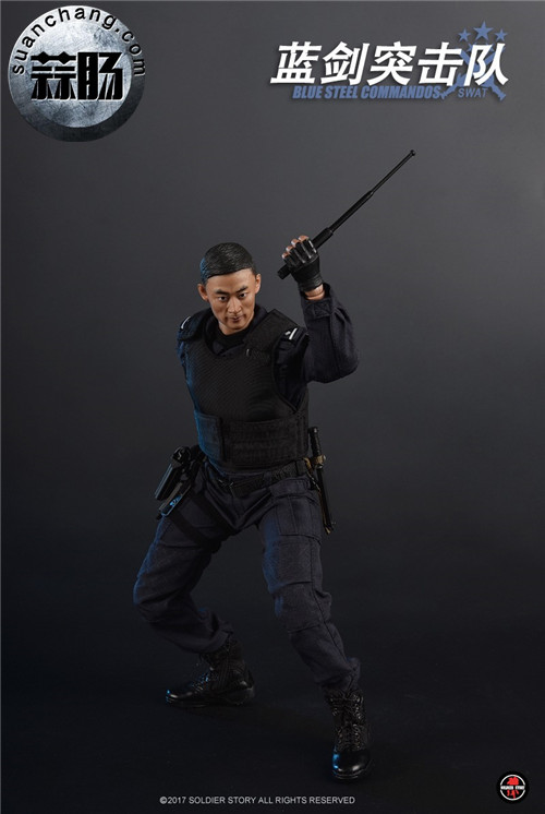 SoldierStory新品:1/6 北京蓝剑突击队 - Blue Steel Commandos SWAT 模玩 第16张
