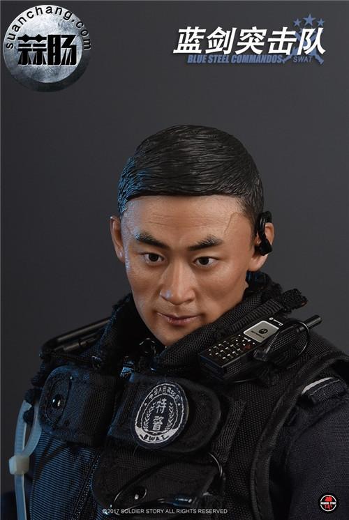 SoldierStory新品:1/6 北京蓝剑突击队 - Blue Steel Commandos SWAT 模玩 第20张