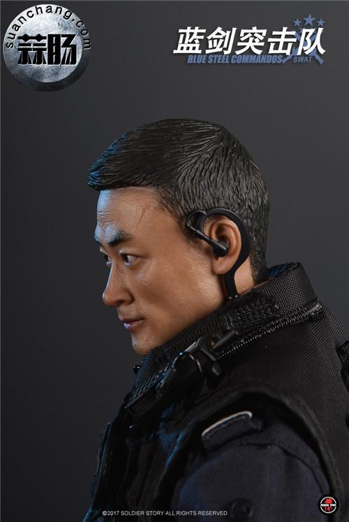 SoldierStory新品:1/6 北京蓝剑突击队 - Blue Steel Commandos SWAT 模玩 第21张