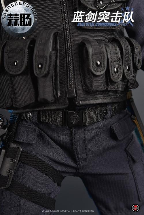 SoldierStory新品:1/6 北京蓝剑突击队 - Blue Steel Commandos SWAT 模玩 第22张