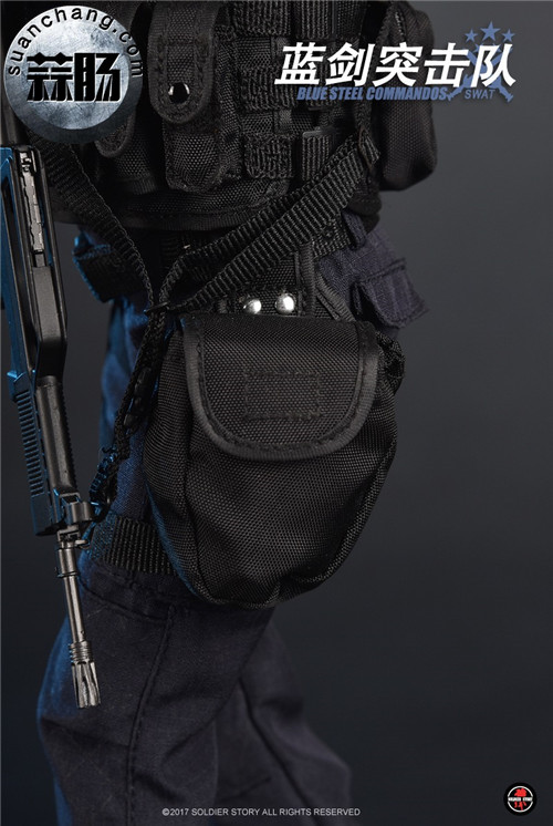 SoldierStory新品:1/6 北京蓝剑突击队 - Blue Steel Commandos SWAT 模玩 第26张