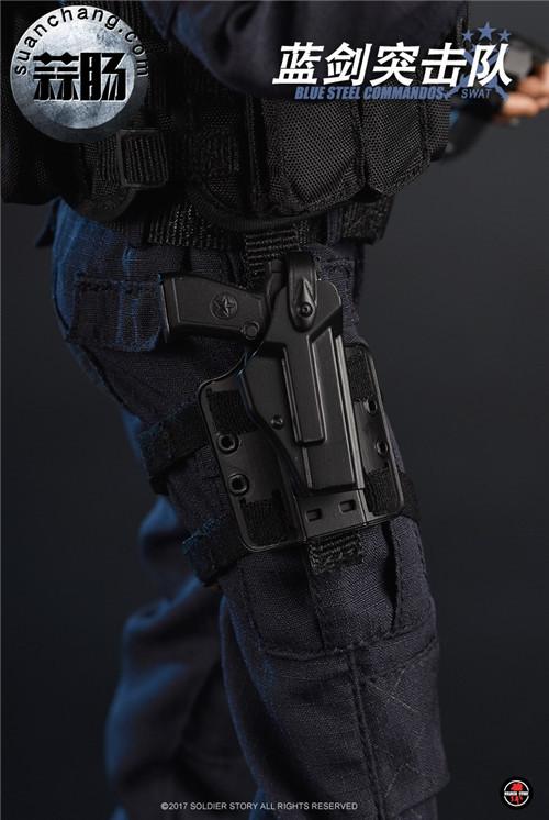 SoldierStory新品:1/6 北京蓝剑突击队 - Blue Steel Commandos SWAT 模玩 第27张