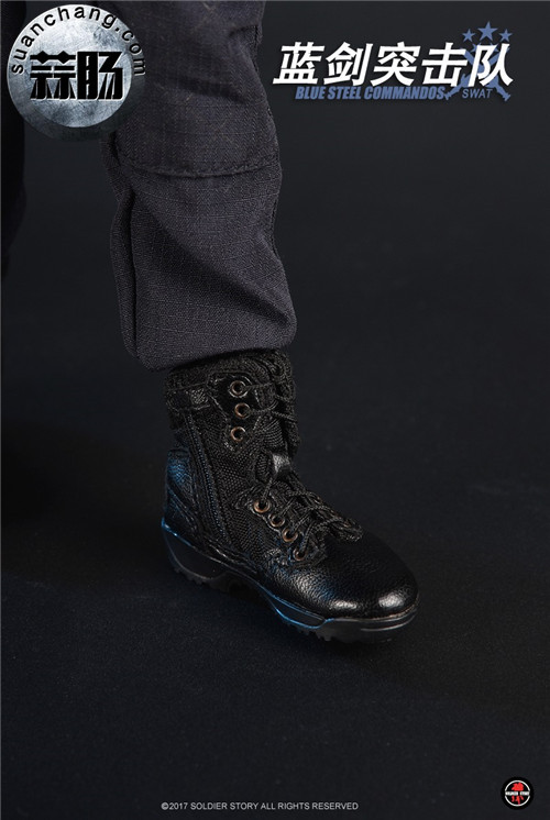 SoldierStory新品:1/6 北京蓝剑突击队 - Blue Steel Commandos SWAT 模玩 第28张