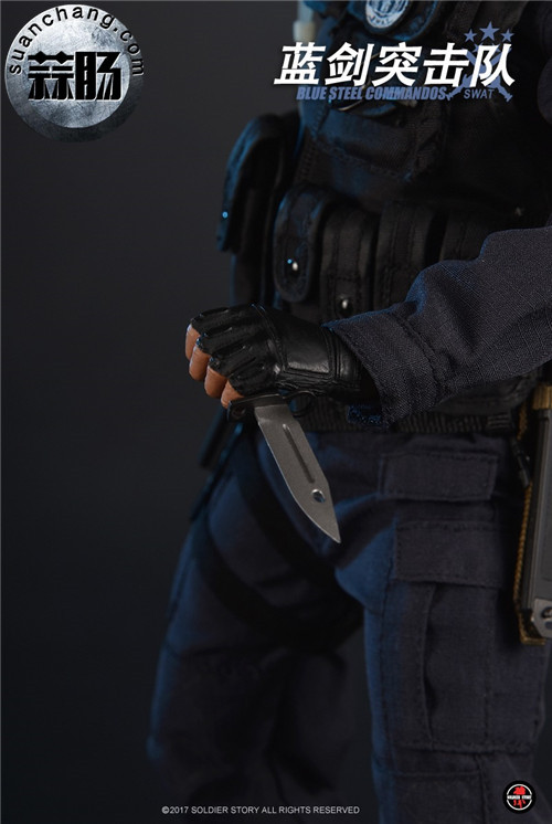 SoldierStory新品:1/6 北京蓝剑突击队 - Blue Steel Commandos SWAT 模玩 第31张