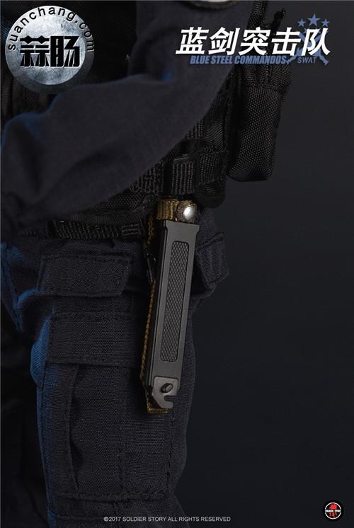 SoldierStory新品:1/6 北京蓝剑突击队 - Blue Steel Commandos SWAT 模玩 第32张