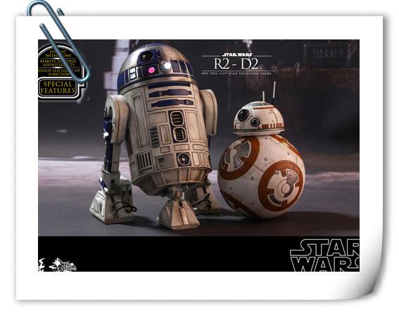 这个机器有点捣 Hottoys 新品《星球大战-原力觉醒》- 机器人 R2-D2
