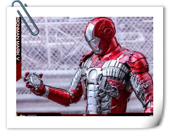 Hottoys 新品——《钢铁侠2》合金压轴MK5也来了