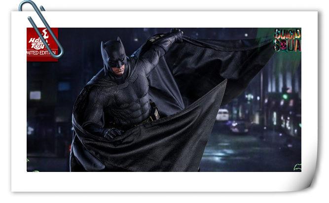 HotToys又添新品?《自杀小队》限量版蝙蝠侠即将来袭