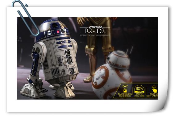 HT 星战R2-D2珍藏人偶即将来袭