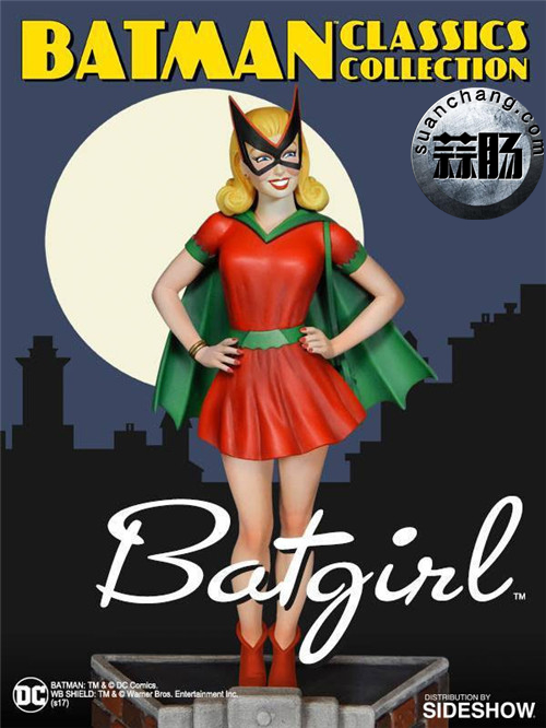 Tweeterhead新品 初代蝙蝠女孩:贝蒂 凯恩Batgirl Bette Kane 1/6 雕像 模玩 第4张