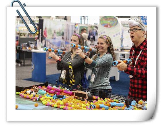 2017北美国际玩具展于昨日开展 变5多款新品正式展出