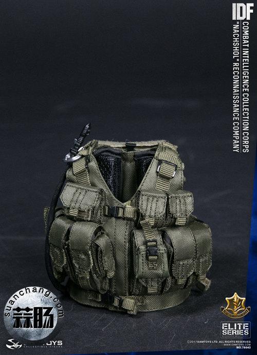 DAMTOYS新品——以色列国防军IDF -战斗情报搜集部队 模玩 第6张