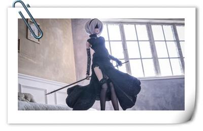 日本宅男用SD娃娃打造《尼尔:机械纪元》2B小姐姐!