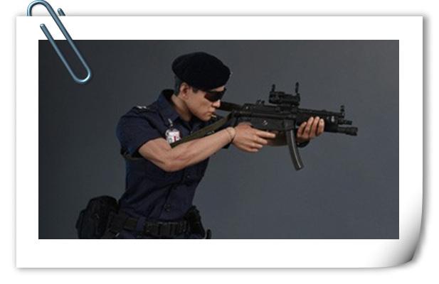 SoldierStory 新品1/6 ASU/香港机场保安队/机场特警公开