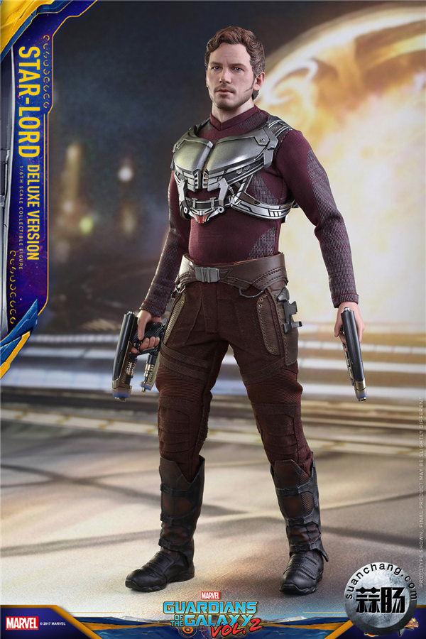 HT发布新品《银河护卫队2》星爵资料 造型可达十余种 hottoys 星爵 银河护卫队2 模玩  第2张