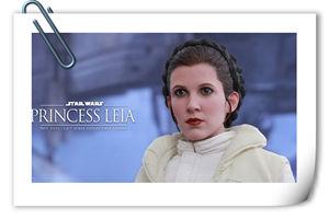 Hottoys 新品《星球大战-帝国反击战》-莱娅公主官图公布