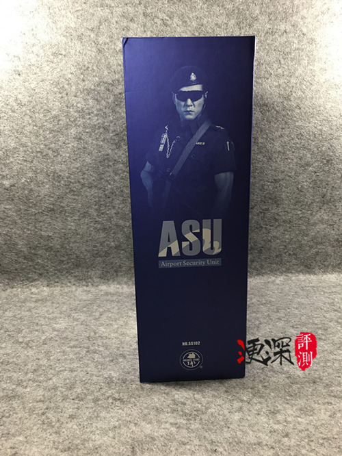 SS(SoldierStory)2017北京会场限定版本 ASU 香港机场特警 (1:6)开箱 简评 模玩 第3张