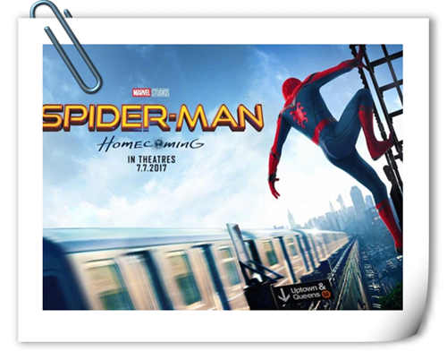 《蜘蛛侠:英雄归来》又公布新宣传图 这次小蜘蛛又想搞哪样