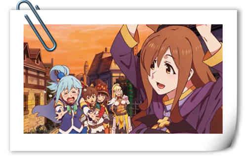 《为美好的世界献上祝福!》第二季 BD&DVD第四卷封面插画公开