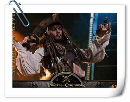 Hottoys 新品《加勒比海盗:死无对证》 - 杰克船长官图公布 DX16能否再创辉煌?