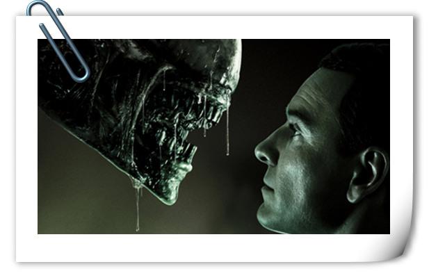 对视如此深情《异形:契约》新预告及海报公开!