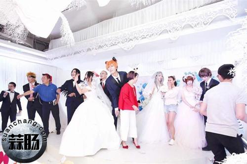 如今婚礼都能这么办了?Cosplay婚礼你见过吗? Cosplay 第9张