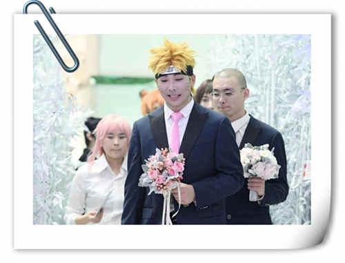 如今婚礼都能这么办了?Cosplay婚礼你见过吗?