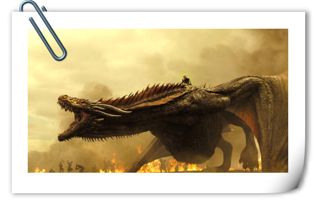 龙母骑龙霸气亮相!《权力的游戏》第七季一组极清剧照公开!