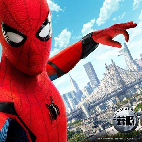 《蜘蛛侠:英雄归来》全新海报及特别剧照公开 可以说很酷炫了 动漫 第3张