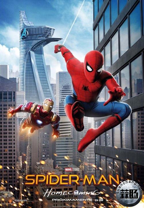《蜘蛛侠:英雄归来》全新海报及特别剧照公开 可以说很酷炫了 动漫 第5张