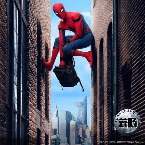 《蜘蛛侠:英雄归来》全新海报及特别剧照公开 可以说很酷炫了 动漫 第4张