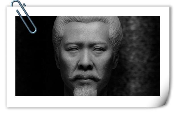 这个赞!303TOYS 预告: 1/6 三国系列 - 刘备 玄德2.0