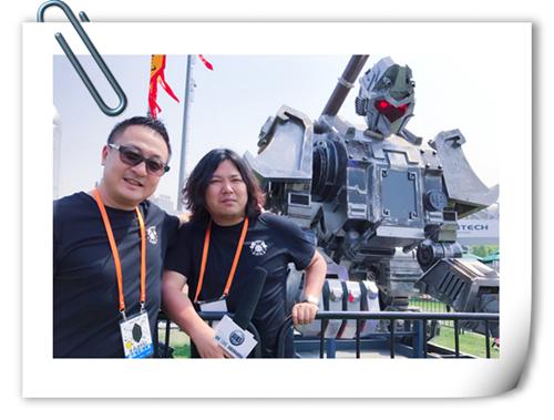 【蒜肠专访】长城会CEO郝义 青年艺术家孙世前(大圣号) 解读机甲文化