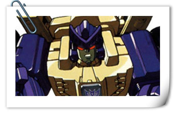 变形金刚G1系列人物介绍 洛格斯