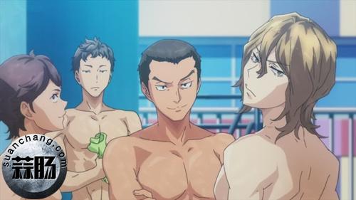 满眼的肌肉 TV动画《DIVE!!》 ED30秒PV公开! 动漫 第1张