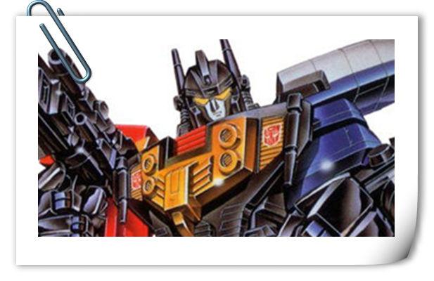 变形金刚G1系列人物介绍 飞摇翼